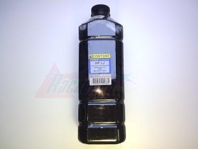 Тонер универсальный HP LJ 1010/1200/1320/4000/5000 (new) новая формула, 1 кг., канистра (CONTENT) [13204]
