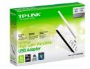 """Беспроводной адаптер TP-Link """"TL-WN722N"""" 150Мбит/сек. 802.11b/g/n Wi-Fi  USB2.0 ret [21138]"""