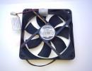 Вентилятор GlacialTech IceWind 12025 120x120x25mm, 3+4 pin, (molex) 20dB 110g BULK [24778]