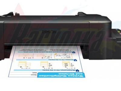 Многофункциональное устройство EPSON Stylus L120 [цветная печать, A4, 720x720 dpi, ч/б - 8.5 стр/мин (A4), USB, СНПЧ] (C11CD76302) [27306]