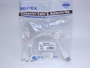 Кабель USB универсальный передачи данных для Apple iPod/iPhone/iPad 4 in1 Multi-Function Cable(USB+Lightning adapter+30Pin, (белый) [28316]