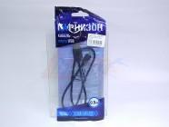 Кабель USB -  micro USB2,0 Гарнизон (AM/microBM 5P,черный,пакет, (0,5 м) [14377] [29104]